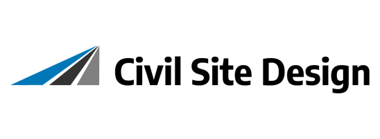 Civil Site Design logo.